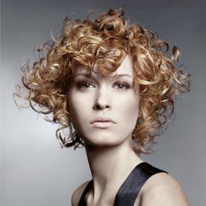 Peinados Modernos Pelo Rizado